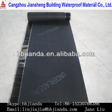 CE marking bitumen based roof tile underlay waterproof membrane