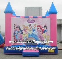 Pink inflatable castle for lovely princess/inflatable bouncers E1065