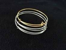 Bargain Price USD0.16-USD0.3/pc High Quality Expandable Wire Bangle Wholesale