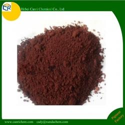 Asphalt pigment iron oxide brown for asphalt