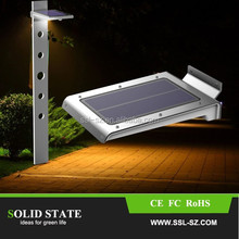 2015 china new made solar motion sensor led outdoor light with cheap price