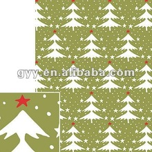 2012 Vintage Trees Wrapping Paper