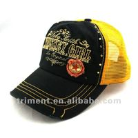 Heavy washed snapback fashion distressed hat and cap