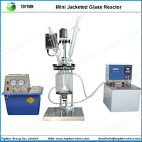 3L Jacketed Glass Reactor for Chemical Lab