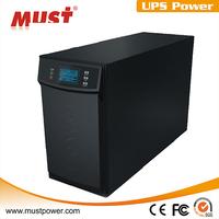 Output voltage 110-300VAC 3kva battery backup online ups