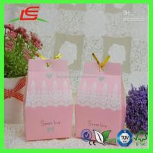 J069 Lovely Tiny Handmade Decoration Wedding Favor Sweet Box Gift Box
