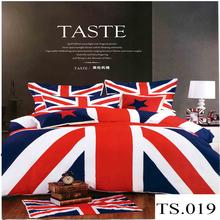 100% cotton european style bedding set cheap king size duvet cover bedding luxury reactive printed 3d bedding set