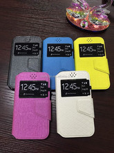2015 Leather Cheap Mobile Phone Case For Samsung S6 With Stand