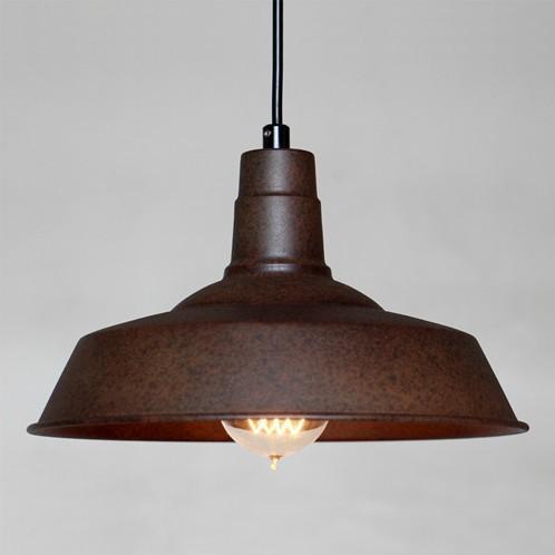 Antique Industrial Metal Loft Pendant Lighting View