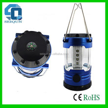 Designer export crank led light solar camping lanterns