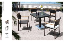 Joliet 2015 Garden used tables and chairs for restaurant PE Wicker/rattan Outdoor Pool Furniture