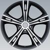 15*14 black Car steel wheel