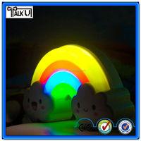Novelty Rainbow Kids LED nightlight lamp
