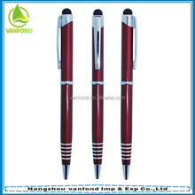 metalpen,copper Material and Mobile Phone,Tablet Use touch stylus pen
