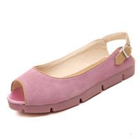 2014 New Arrival fashion peep toe flat jelly shoes
