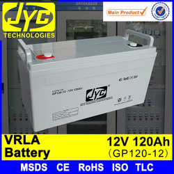 Good quality high power 12v 120ah vrla battery