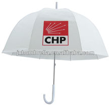 21inch 8k promotional outdoor straight transparent/pvc clear rain umbrella