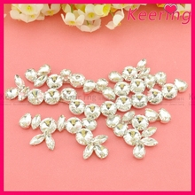 bling horse wholesale chain crystal rhinestones connectors WRE-218