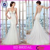 High Quality Sexy V Neck Lace Mermaid Wedding Dress Imported From China