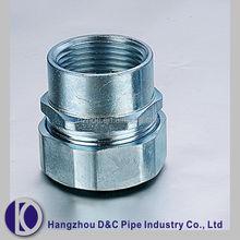 Waterproof cheap DKJ Hexagonal Female Pipe Coupling/ Tube Union Joints/ Connectors