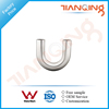G401 Factory price pipe fitting stainless steel 180 degree elbow