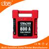 24v jump starter portable generators booster 12v 24v 800A intelligent multi protection circuit for diesel and gasoline engines