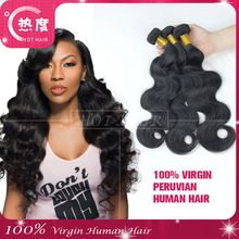 2015 New Hot Hair Products On Sale Top Grade 6A Unprocessed Peruvian Hair Body Wave Virgin Peruvian Human Hair Extension