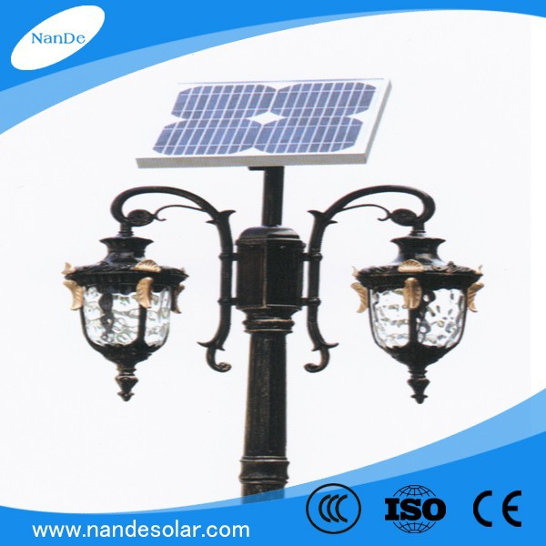 Outdoor Solar Lights Parts: Classic European Style High Lumen Bridgelux Waterproof