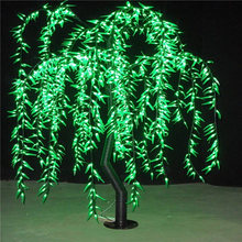 2016 newest led christmas tree with RGB color for garden decoration