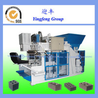 High pressure QMY10-15 used concrete block making machine for sale