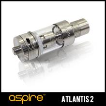 Oferta de archivo Aspire Atlantis 2! Sub Ohm Tank ( 0.3 / 0.5 / 1.0 ) Ohm BVC japonés de algodón orgánico de Ten un