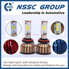 2015 New Product! Best Price NSSC 3C car tuning light h7 high power led headlight cob