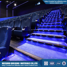 led lighting interior stair treads for movie house