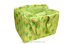 New design 210D insulated food warmer cooler tote bag