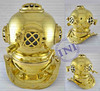 Mini Brass Diving Helmet, Decorative Brass Diving Helmet, Classical Brass Diving Helmet