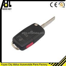 01004 Yuyao abl car key for VW 3+1 button high quality