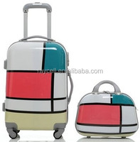 Kids hard shell luggage / kids rolling luggage case kids trolley suitcase travel bags