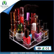 clear perfect makeup custom wholesale modern acrylic organizer for cosmetic for all kinds of place