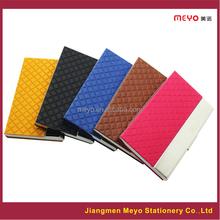 Custom Leather Business Card Holder gift set