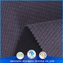 Slub sweater fabric bonded fleece jacket fabric wholesale fabric china