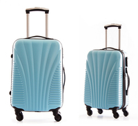 Fashion hot-selling design pc abs suitcase