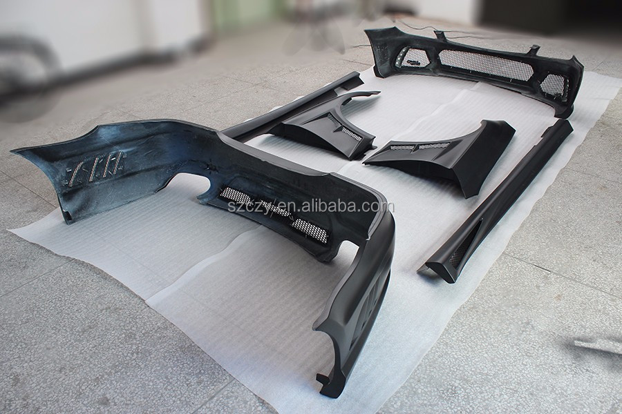 Estilo Wald Body kit W219 Bodykit do FRP para M ercedes B enz W219 06-09