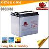 6v 210ah deep cycle gelled electrolyte battery for golf trolley