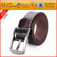 Fashion Mexican Style Man Belts Genuine Leather Pin Buckle Belt