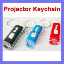 Projector Clock LED Clock Promotion Logo Key Chain