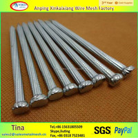 competitive price hot dipped galvanized 1 to 6 inch hardened steel concrete nails