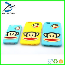 silicone plain phone cases for iphone 4,4s,5,5s,6
