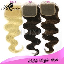 Free parting lace front closure/ lace closure/ virgin hair bundles with lace closure