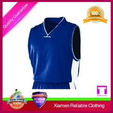 Hot selling top quality jersey shirts design for basketball from supplier