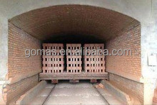 tunnel kiln for sintered clay mud block making machine